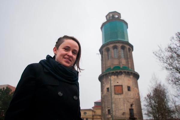 Z unikátní věže má vzniknout veřejný ateliér